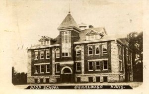 KS Oskaloosa 1910 High School Building